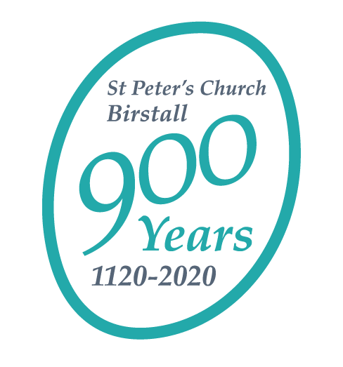 St Peter's Church - 900 year celebrations logo (1120-2020)