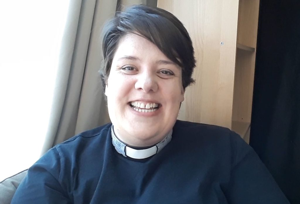 Jess Davis, our new priest-in-charge