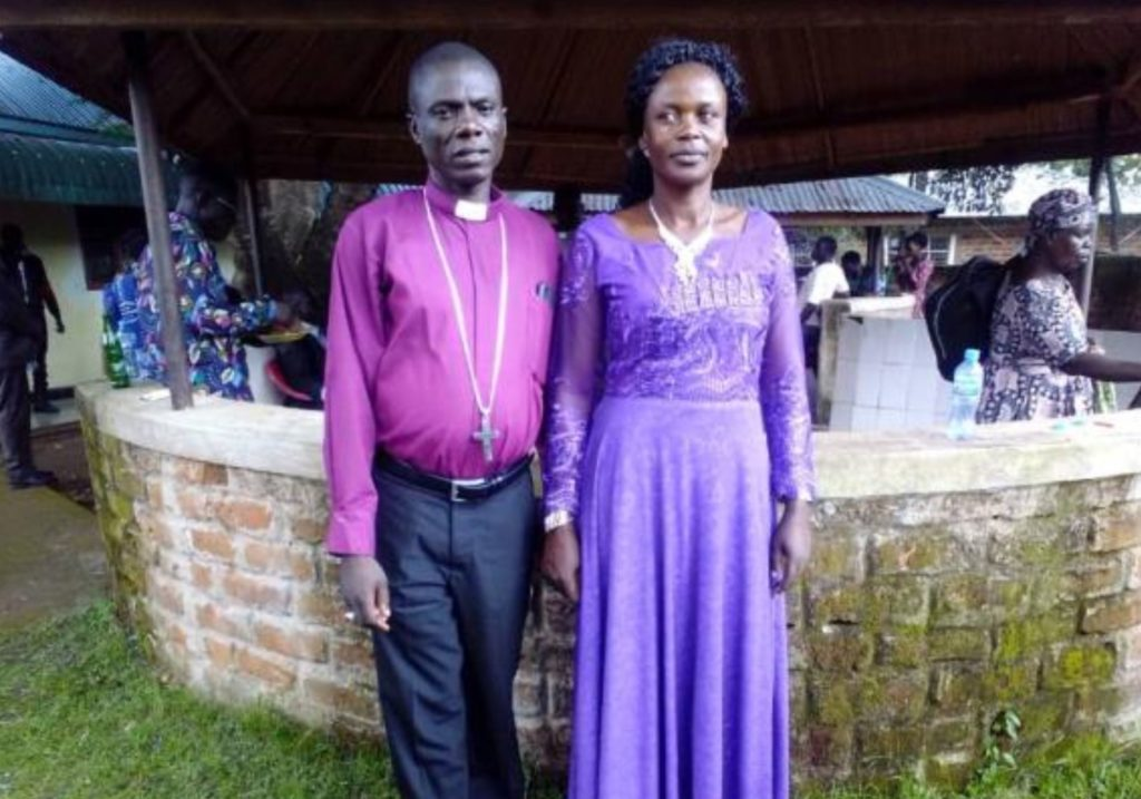 Bishop Musa and his wife, Diocese of Rorya, Tanzania